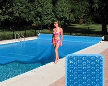 Bâche à bulles pour piscine hors sol